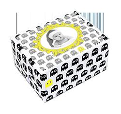 étiquette personnalisée avec photo pour cadeau