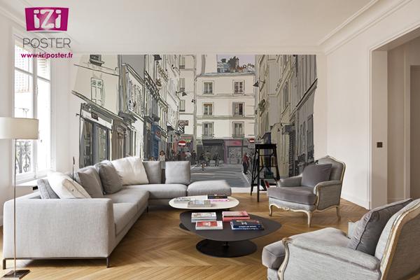 poster mural paris