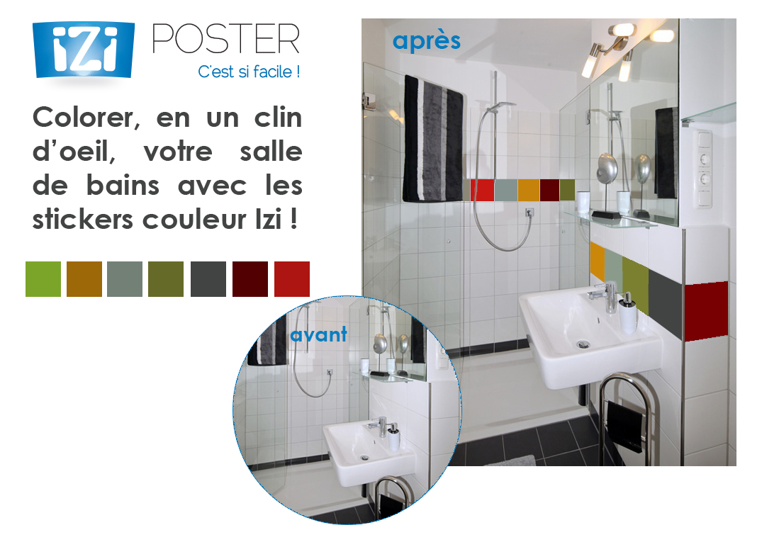 sticker couleur