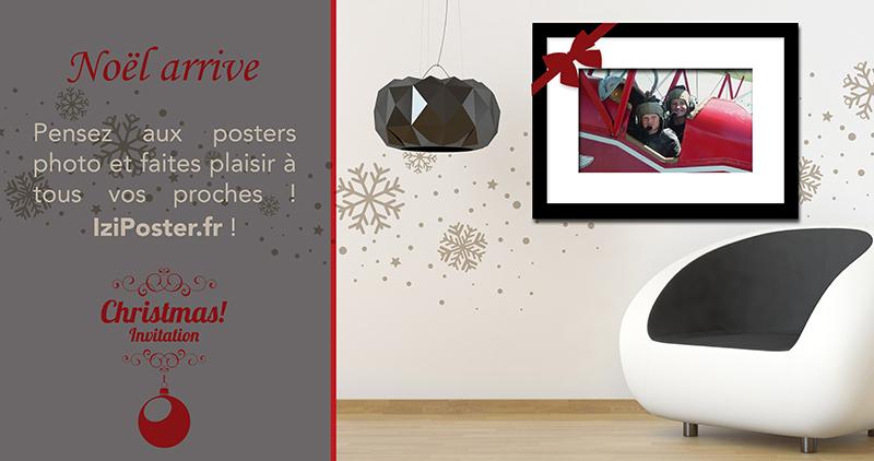 Pour Noël offrez un poster photo !