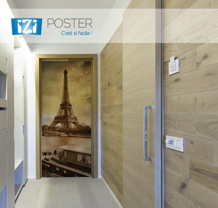 iziposter poster photo porte