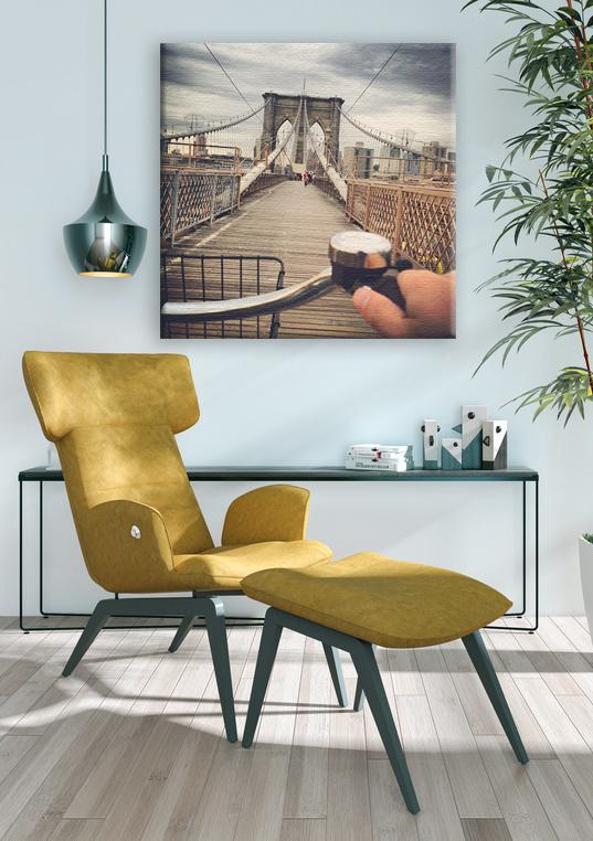 Iziposter.fr création en ligne et impression sur mesure de vos photos sur plexi, alu brossé, forex ou toile.