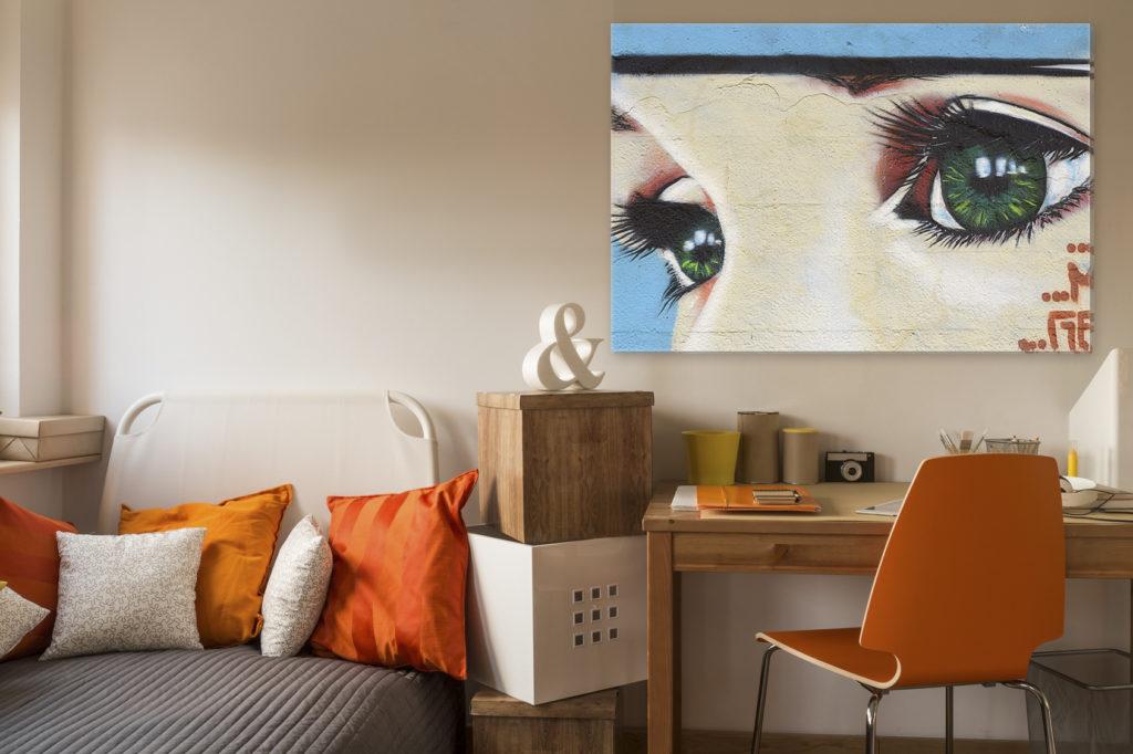 cr ez une d coration murale originale et unique. Black Bedroom Furniture Sets. Home Design Ideas