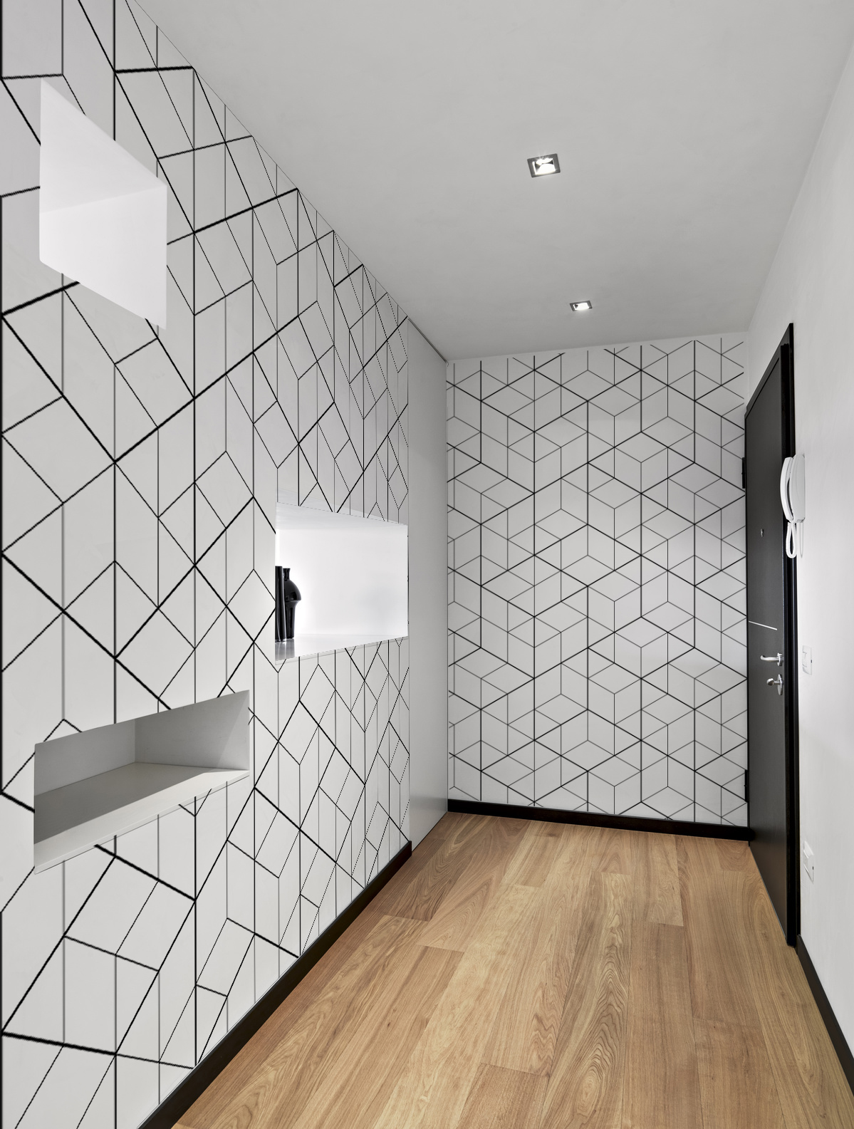 papier peint geometrique vos photos en poster grand format. Black Bedroom Furniture Sets. Home Design Ideas