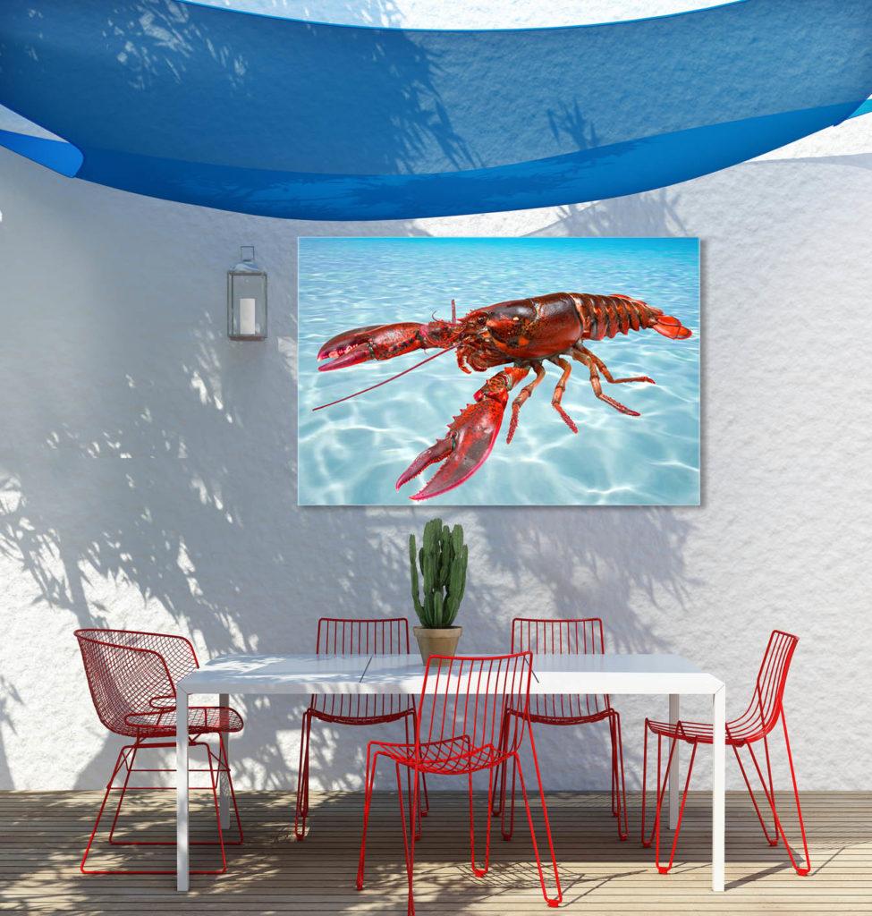 Transposer votre salon sur la terrasse for Tableau exterieur