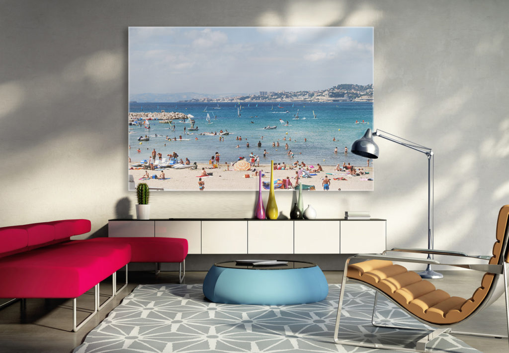 tableau photo plexi on a tous envie de plage et de. Black Bedroom Furniture Sets. Home Design Ideas