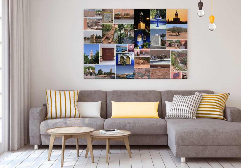 Vos photos en poster grand format - Tableau pele mele photo ...