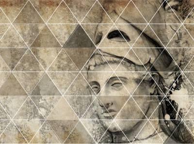 PAPIER-PEINT 350x260 cm, Adhésif Textile