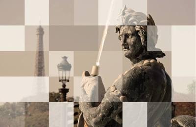 PAPIER-PEINT 400x260 cm, Adhésif Textile