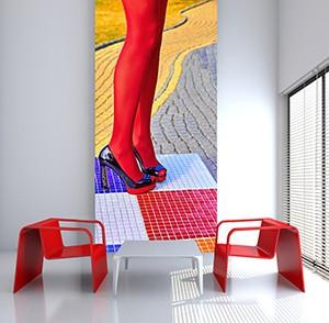 PAPIER-PEINT 120x260 cm, Auto-adhésif
