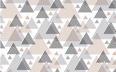 Papier-peint GEOMETRIE POUDREE 120x260 cm