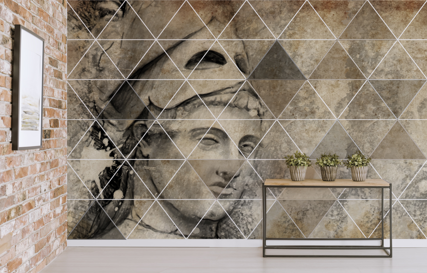 Fresque murale ANTIC