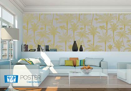 Impression de papier peint autocollant personnalise   décoration