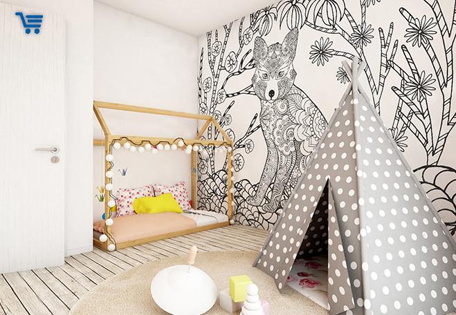 impression papier peint personnalis en ligne. Black Bedroom Furniture Sets. Home Design Ideas